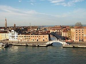 Ponte San Biasio delle Catene i Rio dell'Arsenale (Venècia).JPG