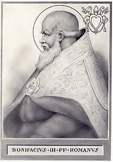 Pope Boniface III 7th-century pope