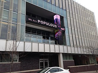 Populous (company) - Former headquarters of Populous, in Kansas City, Missouri