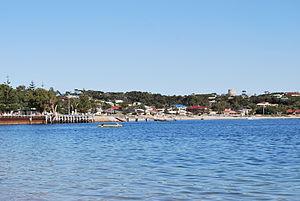Port Vincent, South Australia - Looking towards the beach at Port Vincent