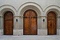 Portalades de l'església del col·legi de l'escolania de la mare de Déu dels Desemparats, València.JPG