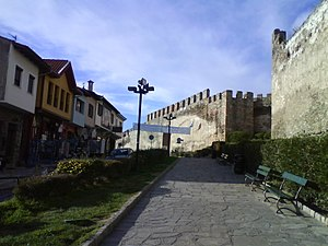 Walls of Thessaloniki - Image: Portara Gate