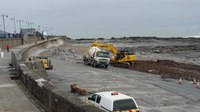 File:Porthcawl sea front works March 2018.webm