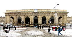 Photo of Newcastle Central railway station