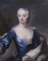Porträtt. Kvinna. Grevinnan Eva Katarina Sack , 1724- 1753, g.m. greve Erik Brahe - Skoklosters slott - 82163.tif