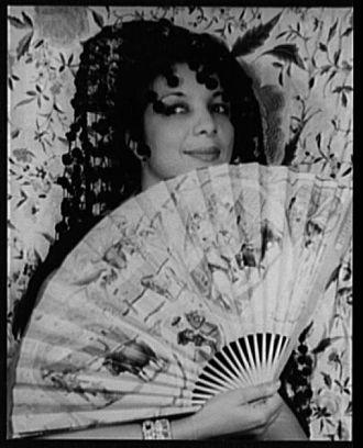 Evelyn Dove - Portrait of Evelyn Dove, 1935, by Carl van Vechten
