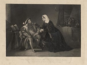 King Henry the Eighth and Queen Catherine Parr