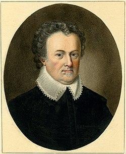 Portrait of Michael Drayton by Sylvester Harding.jpg