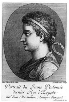 Portrait of Ptolemy XIII Theos Philopator.jpg