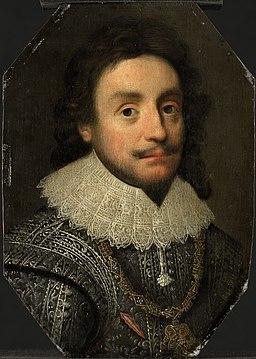 Portret van Frederick V (1596-1632), Keurvorst van de Palts Rijksmuseum SK-A-675