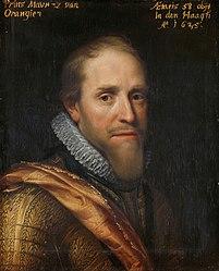 Michiel van Mierevelt: Portrait of Maurits (1567-1625), Prince of Orange