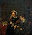 Portret van Petronella Moens (1762-1843) en Antonia Elisabeth Camphuis (1807 1808-1842) door Margaretha Cornelia Boellaard (1795-1872).jpg
