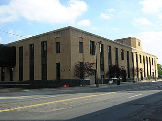 Minneapolis Post Office - Second structure east on 1st St.
