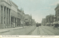 Postcard showing East Main Street in Danville, Illinois, USA circa 1910.png