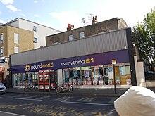 Poundworld North End Road Fulham London
