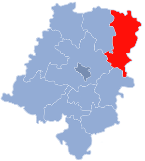 Olesno County - Image: Powiat oleski