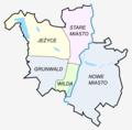 Poznan dzielnice administracyjne 1990 z nazwami.png