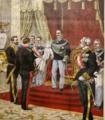 Présentation à Sa Majesté le Roi de la très haute distinction que lui a confiée le Président de la République française.png
