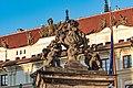 Praha, Hradčany Hradčanské náměstí, Pražský hrad 20170905 010.jpg
