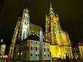 Praha, Pražský hrad, JZ strana katedrály SV Víta.jpg