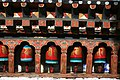 Prayer wheels in Kyichu Lhakhang Temple.jpg