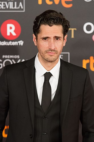 Juan Diego Botto - Botto at the 32nd Goya Awards in 2018