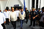 President Rodrigo Roa Duterte arrives at the 69th foundation anniversary of the Philippine Airforce 1.jpg