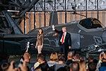President Trump at Joint Base Andrews, Sept. 15, 2017 01.jpg