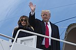 President Trump before boarding Air Force One.jpg