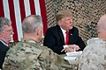 President Trump the First Lady Visit Troops in Iraq (45589826125).jpg