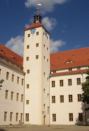 Pretzsch, Wittenberg - Image: Pretzsch castle
