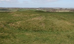 Scheduled monuments in Mendip - Image: Priddy Nine Barrows