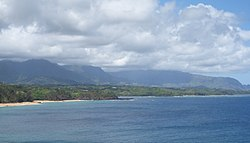 Princeville from the Kilauea Point National Wildlife Refuge
