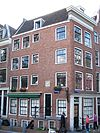 foto van Hoekhuis met gevel onder rechte lijst
