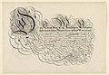 Print, Page from a calligraphy book, Spieghel Der Schrijfkonste, Rotterdam, 1605, 1605 (CH 18400755).jpg