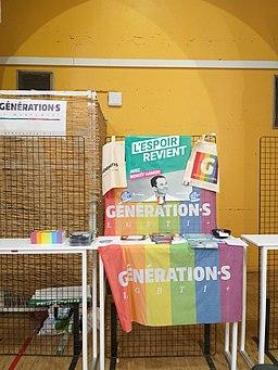 Printemps des assoces 2019 - stand - generation·s LGBTI