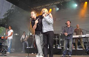 Sebastian Krumbiegel - Krumbiegel (left) alongside fellow bandmember Tobias Künzel