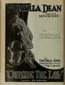Priscilla Dean and Lon Chaney in Outside the Law by Tod Browning 2 Film Daily 1920.png