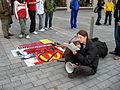 Protest proti McDonald's a jedení masa.jpg