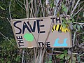 Protest sign in the Hambach forest 09.jpg