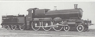 GWR 2900 Class - No. 100 as built in 1902