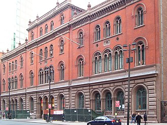Lafayette Street - The Public Theater, formerly the Astor Library