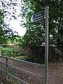 Public footpath, Doddington Road, Lincoln, England - DSCF1512.JPG