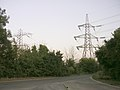 Pylons southwest of the electricity substation, Nursling industrial estate - geograph.org.uk - 26834.jpg