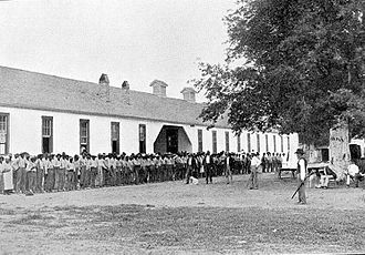 Louisiana State Penitentiary - Quarters C, 1901