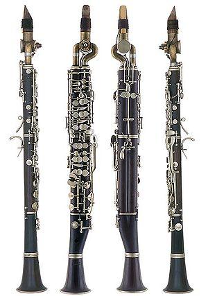Quarter tone - A quarter tone clarinet by Fritz Schüller.