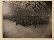 Queen's Own Rifles in armouries, Toronto (HS85-10-22382)