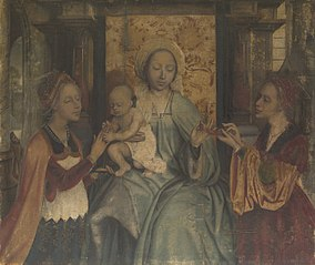 Virgin and Child with Saints Barbara and Catherine
