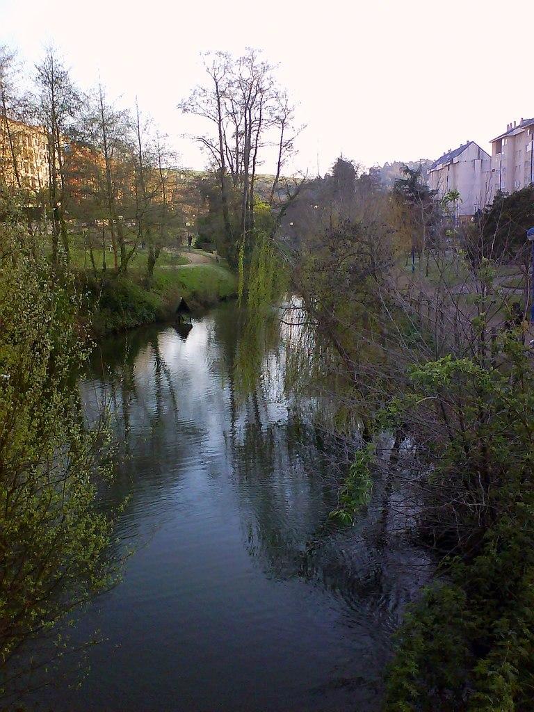 Río Trabe, o Burgo, Galiza