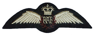 Aircrew brevet - Royal Air Force pilot brevet